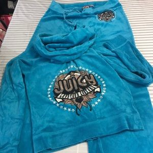 VINTAGE JUICY COUTURE TRACKSUIT SET